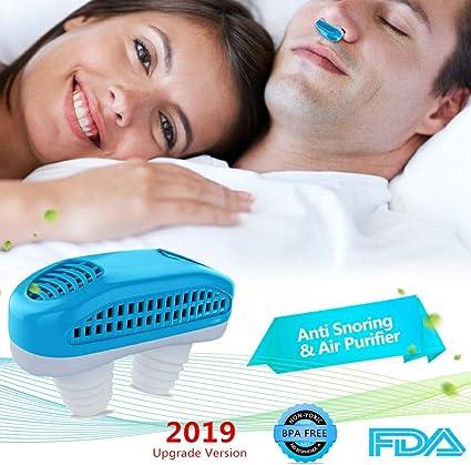 Azul Profesional Ronquido Tap/ón Nariz Respiraderos Ronquido Dilatadores Nasales Para Dormir Mejor y Aliviar el Ronquido Dispositivo Antirronquidos