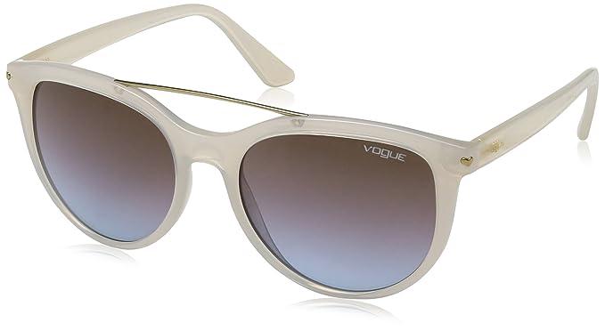 c1f08f9330 Vogue 0VO5134S 253248 55 Montures de Lunettes, Blanc (Bianco), Femme ...