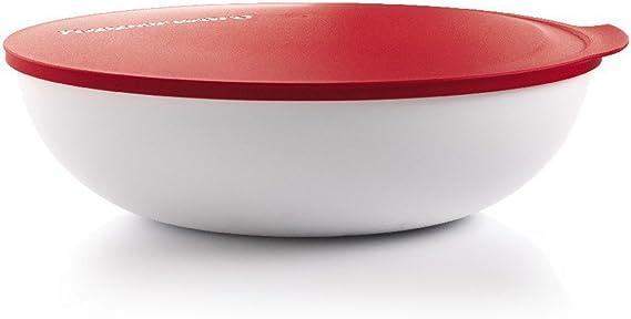 TUPPERWARE G03 Ciotola Allegra 1,5 L bianco rosso 9891 ...