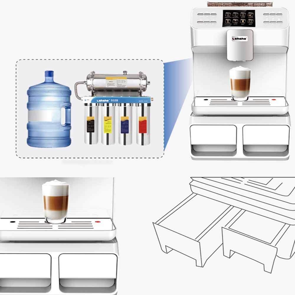 HM2 Máquina de café, Máquina de café automática de un Solo botón.: Amazon.es: Deportes y aire libre