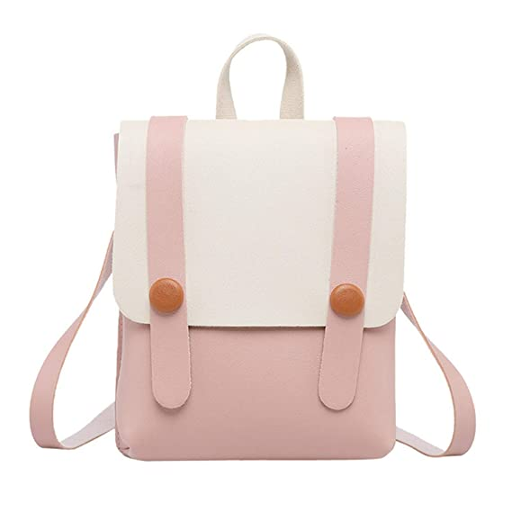 Amazon.com: Top Fashion Summer Woman Shoulder Bag Pu-Leather Covered Backpack Frozac Mobile Phone Bag Book Bagss Mujer: Computers & Accessories