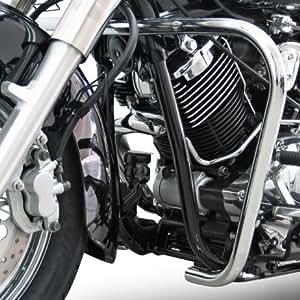 Defensa de motor Fehling Yamaha XVS 1100 A Drag Star Classic 00-07 plata