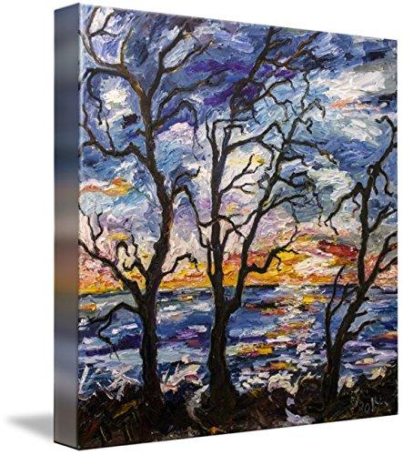 Wall Art Print entitled Jekyll Island Georgia Sunrise by Ginette Callaway