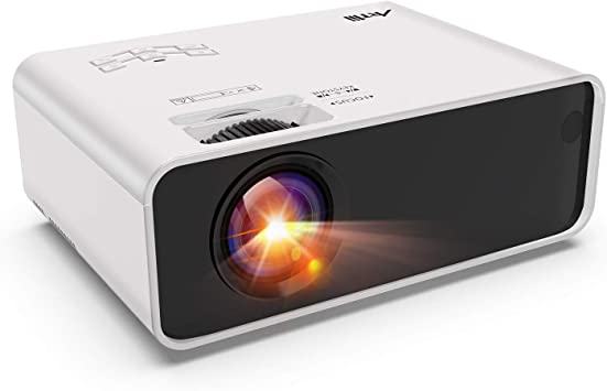 Opinión sobre Mini Proyector Portátil, Artlii Enjoy1 Proyector Cine en Casa, LED Proyector para Móviles, ± 45 ° 4D Keystone Correction, Zoom,Remote Learning, para TV Box / Smartphone / Android / iPhone / PC