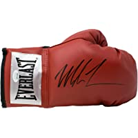 Mike Tyson Autographed Signed Red Everlast Right Hand Boxing Glove JSA photo