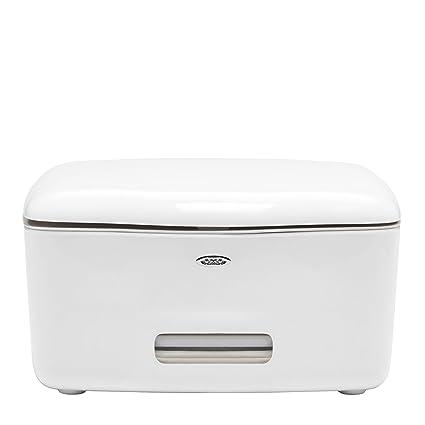 Oxo TOT6280600 - Dispensador toallitas medianas, color blanco