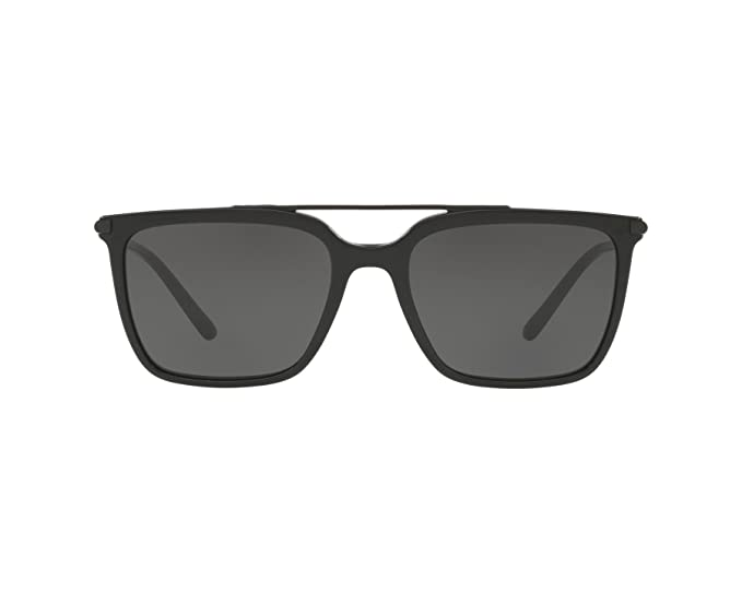 add3de85eb1 Image Unavailable. Image not available for. Colour  Dolce   Gabbana ROYALE  DG 4318 SHINY BLACK GREY men Sunglasses