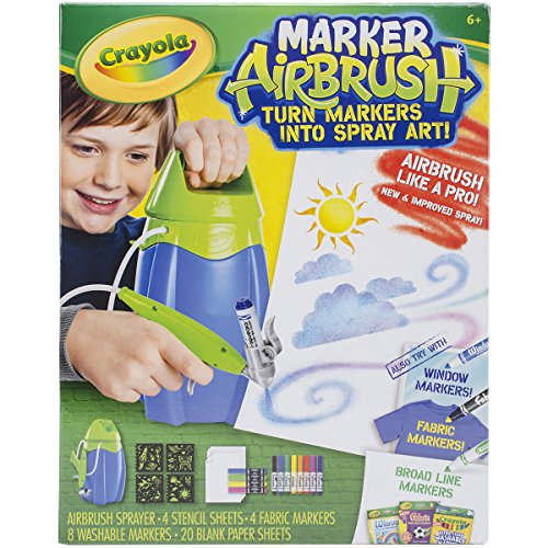 Crayola Apr-27 Crayola Marker Airbrush Kit-