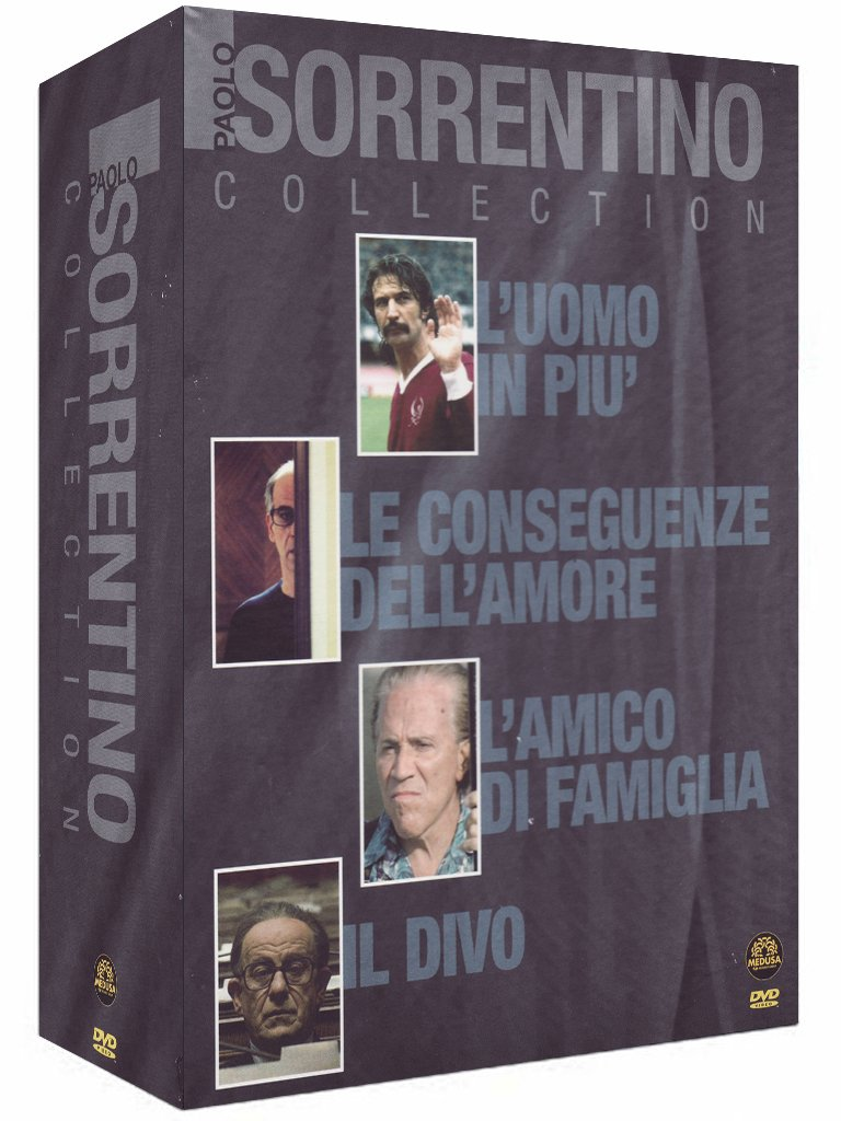 Paolo Sorrentino collection [4 DVDs] [IT Import]: Amazon.de: Toni ...