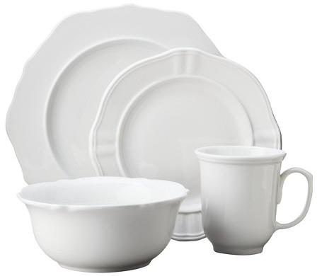 Stoneware Wellsbridge Dinnerware 16-pc. Set White - Threshold ™ : Target