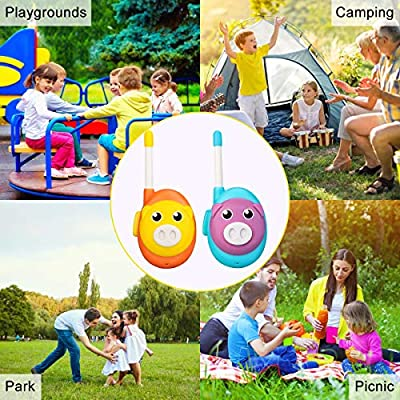 Retevis RB16 Toys Walkie Talkies for Kids Toddlers Easy to Use Best Gift Children Walkie Talkies for Boys Girls (2 Pack): Car Electronics
