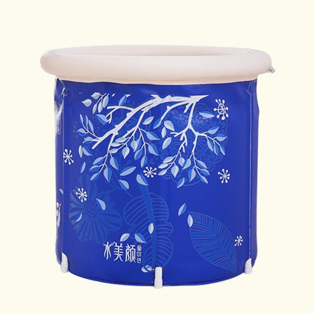 Adult Children Bath Tub Plastic Thicker Zuhause Inflatable Bathtub (Size : 7070Cm)