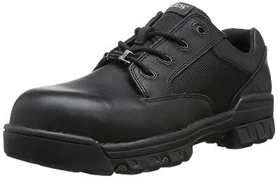 Bates Men's Sport Comp Toe Uniform Work Boot, Black, ...