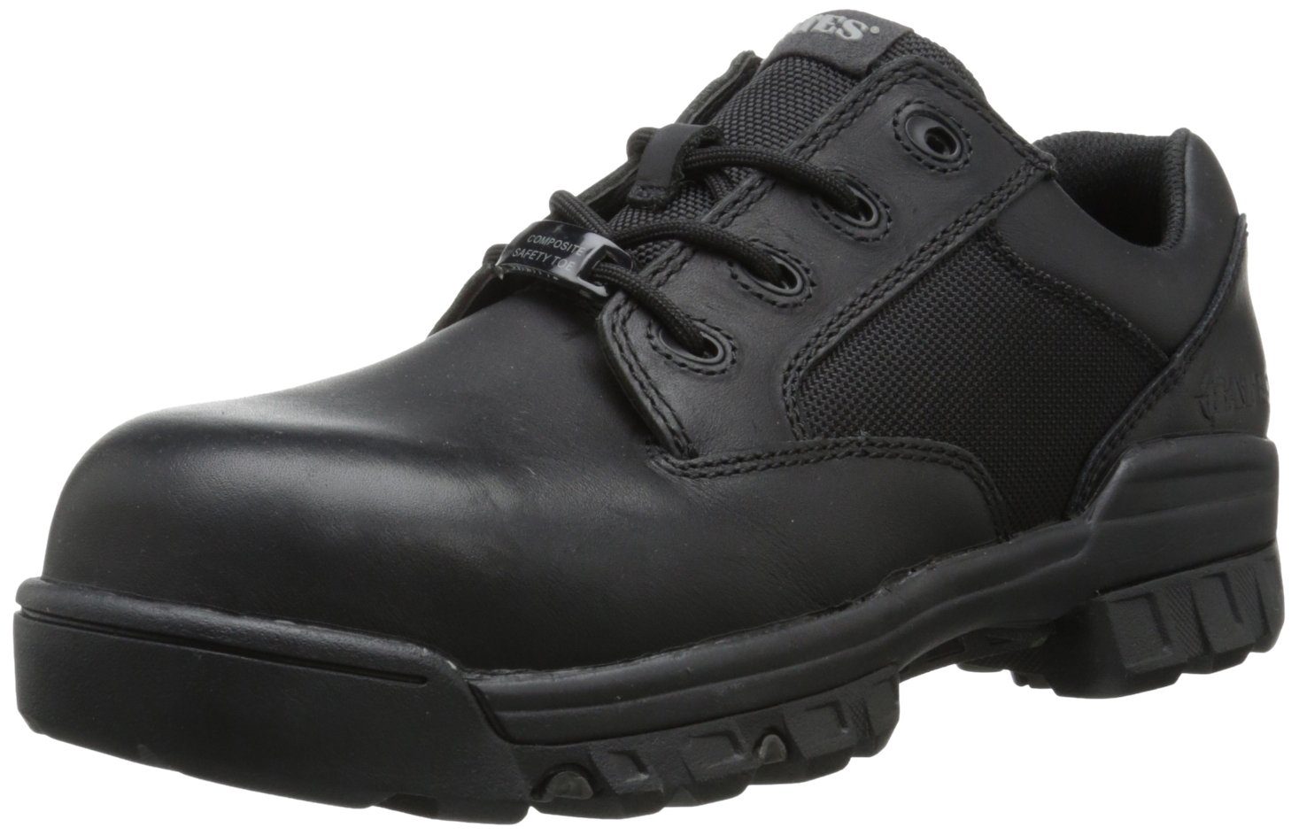 Bates Men's Tactical Sport Oxford Work Boot,Black,7 XW US