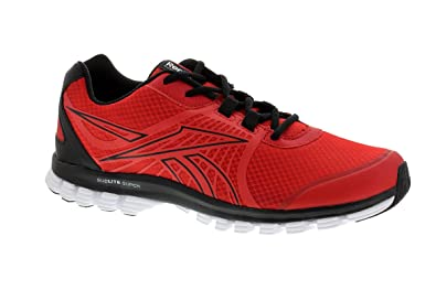 5557e4facde Reebok Men s Sublite Super Duo Speed Red Rush Black White Running Shoes-14