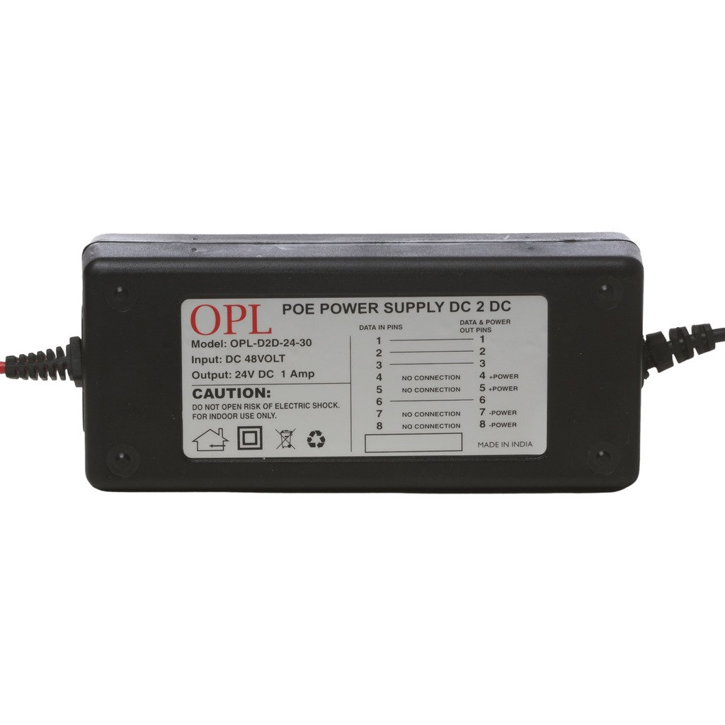 Opl Poe Adapter 24v 1a Dc To Convertor Buy Adaptor Online At Low Price In India