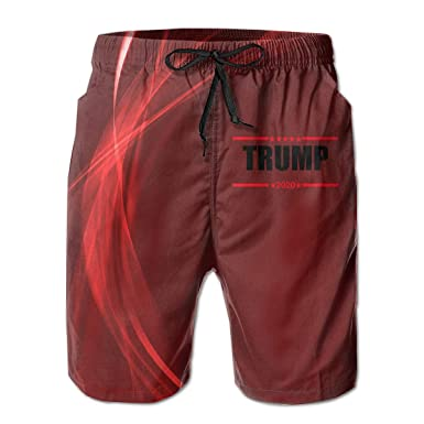 Summer Shorts 2020.Amazon Com Trump 2020 Men S Athletic Classic Summer Shorts