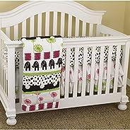 Cotton Tale Designs Hottsie Dottsie 3 Piece Crib Bedding Set