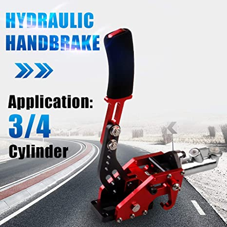 c38acc78ae7 Amazon.com: RYANSTAR Hydraulic Handbrake Master Cylinder 3/4, E-brake  Racing Parking Emergency Brake Lever Handle Red: Automotive