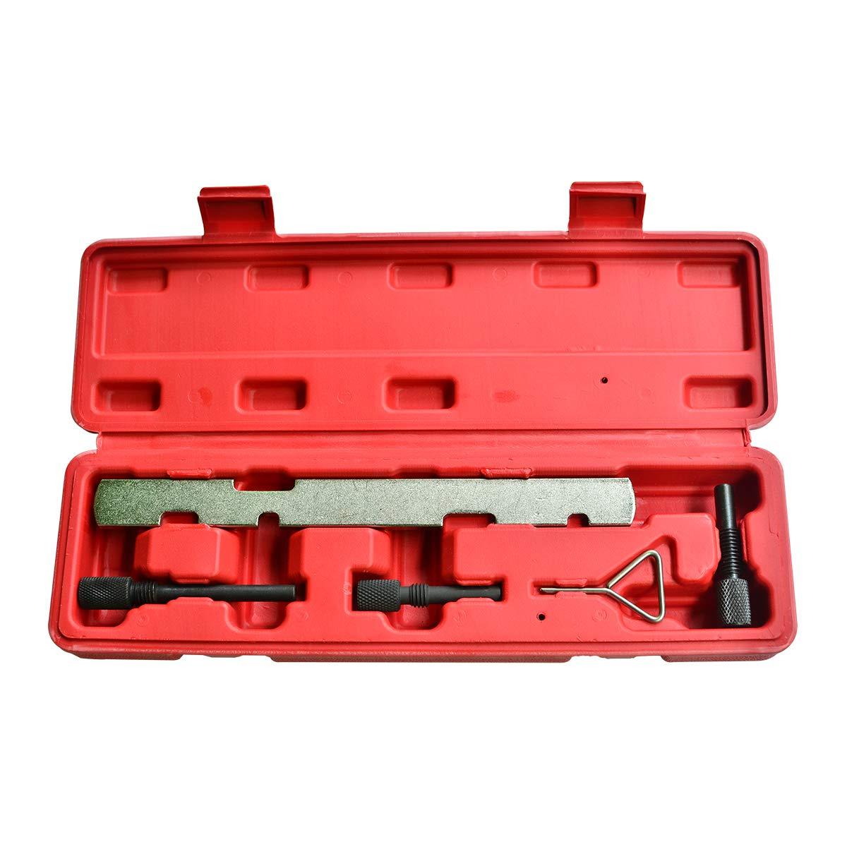 ITEQ Engine Timing Alignment Tool Set Timing Belt Tool Kit for Ford Mazda Fiesta Volvo Camshaft Crankshaft Locking Setting Tools