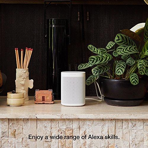 Sonos One (Gen 1) – Voice Controlled Smart Speaker with Amazon Alexa Built-in (White)