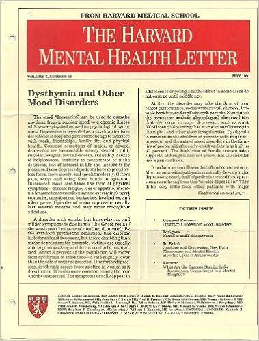 The Harvard Mental Health Letter From Harvard Medical School 33