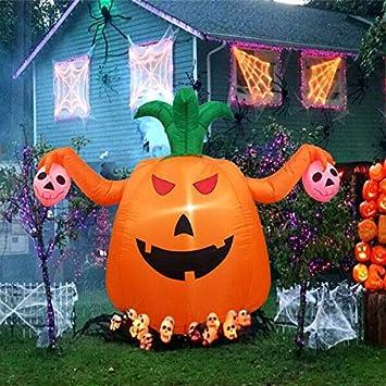 Amazon.com: ARB Market Foot Halloween Inflatable Pumpkin Halloween