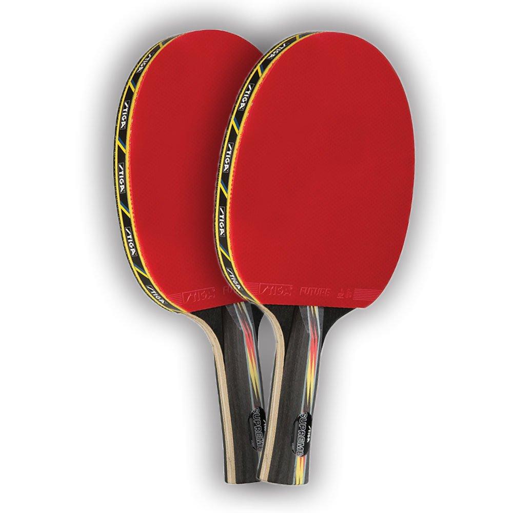 STIGA Set of 2 Supreme Tournament Ping Pong Paddles