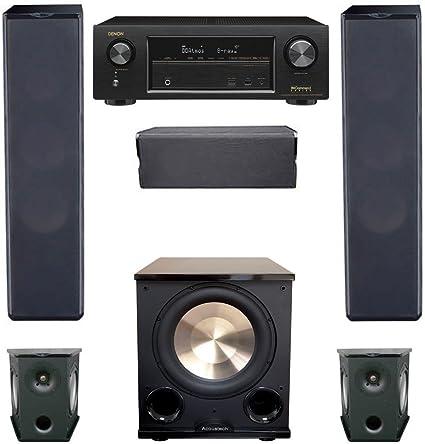 Premier Acoustic PA-6S Surround Speakers-PAIR black!