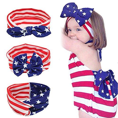 Baby Girl Elastic Headbands Turban Knot Bow knot Rabbit Ears Bow Headwraps JA36