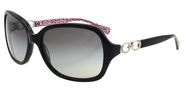 efe041e54c778 Coach Women s Gradient HC8019-503411-58 Black Butterfly Sunglasses  Coach   Amazon.ca  Clothing   Accessories