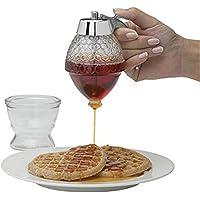 Dispensador de miel, jarabe de acrílico de miel