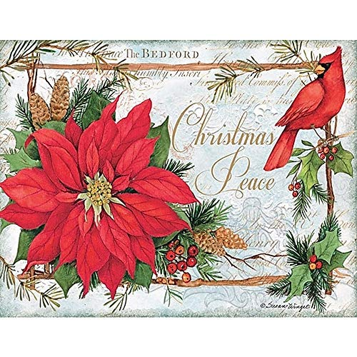 Deluxe Christmas Cards Set - Lang Cardinal Christmas Assorted Two Set Card (1008115)