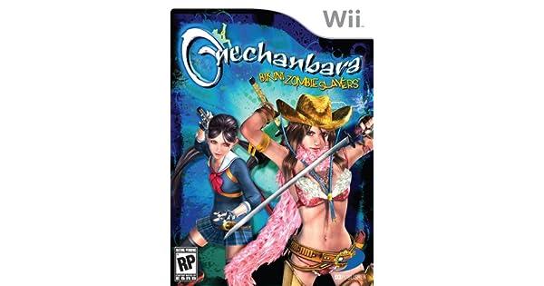 Amazon Com Onechanbara Bikini Zombie Slayers Nintendo Wii