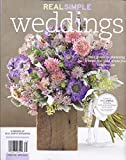 REAL SIMPLE WEDDINGS MAGAZINE 2013, YOUR GUIDE TO PLANNING WEDDING, NEW NO LABEL