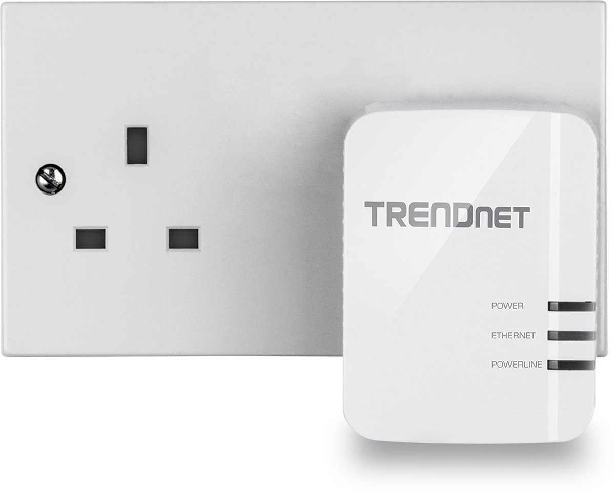 Trendnet Tpl 420e2k 1200 Mbps Av2 Powerline Gigabit Ethernet Adapter Adapters An Alternative To Cable Wireless Twin Pack Computers Accessories