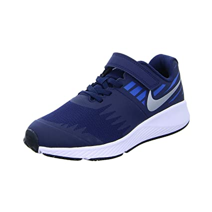 3a48dcdf NIKE Kids' Preschool Star Runner Running Shoes (2.5 Silver/Blue)❗️Ships  directly from Nike❗️