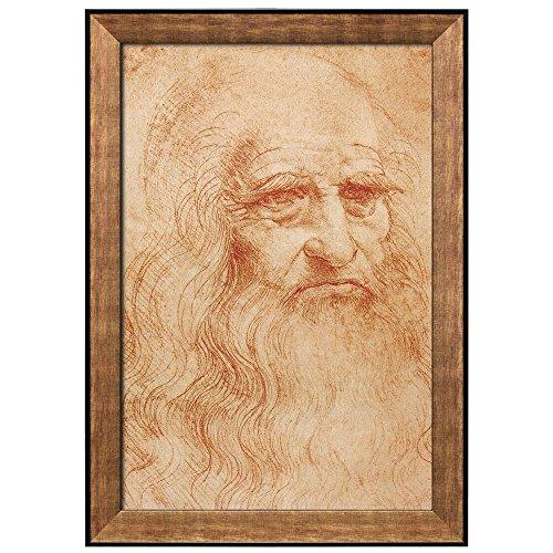 Self Portrait by Leonardo Da Vinci Framed Art