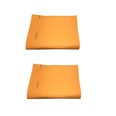 "Orange Super Chamois Large 20"" X 27"" Super Absorbant Cloth- 1,2,4 and 10 Pack Shammy-Original Made in Germany (Orange 2 Pack): Automotive"