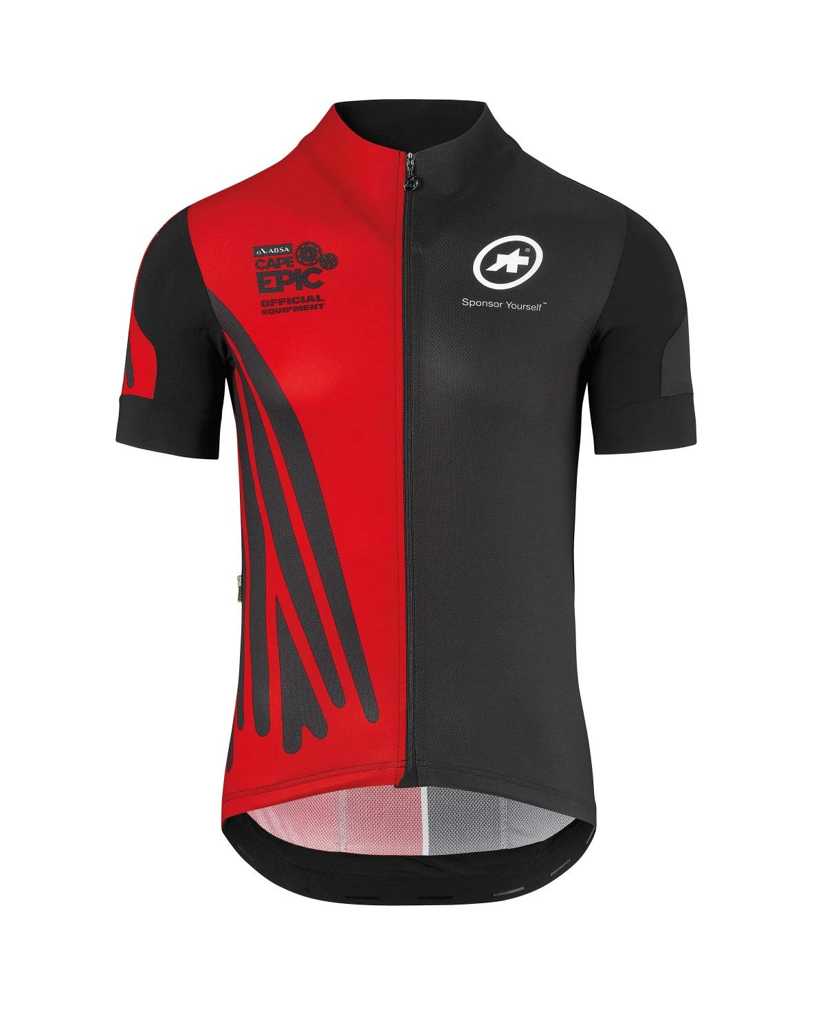 assos SS.CAPEEPIC XC Jersey/_EVO7 National Rouge