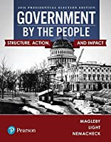 Government By the People, 2016 Presidential Edition Front Cover