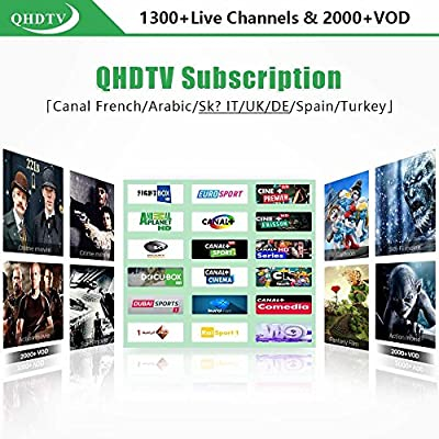 Saver MXQ pro IPTV 1 año 700. más canales neotv tv box Android ...