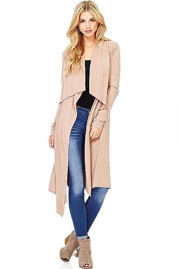 wholesale price amazon popular stores LOVE STITCH Women's Long Asymmetrical Layering Cardigan (S ...