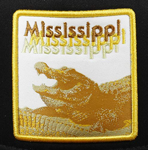 Trucker Gator New Black Era Mississippi 9forty Adjustable Fit PTzwqf6az