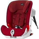 (跨境自营)(包税) 欧版Britax 宝得适 儿童安全座椅 百变骑士三代 ADVANSAFIX III SICT 火焰红(适用年龄:9个月-12岁)