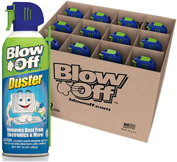 2 Pack 2 10z Cans Blow Off Air Duster