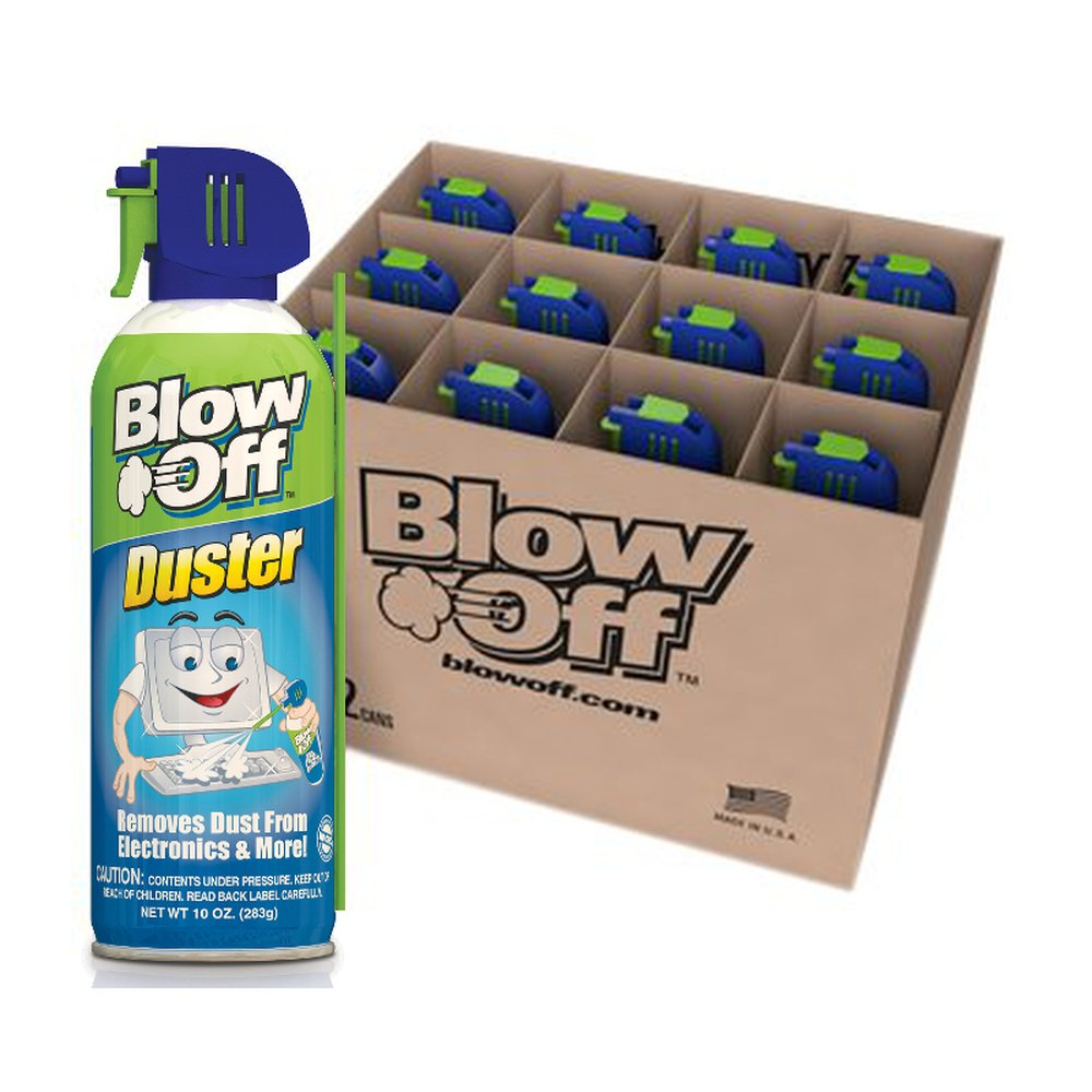 Blow Off 152112-226 Blow Off Duster - 10oz. (Case of 12 units) by Blow Off