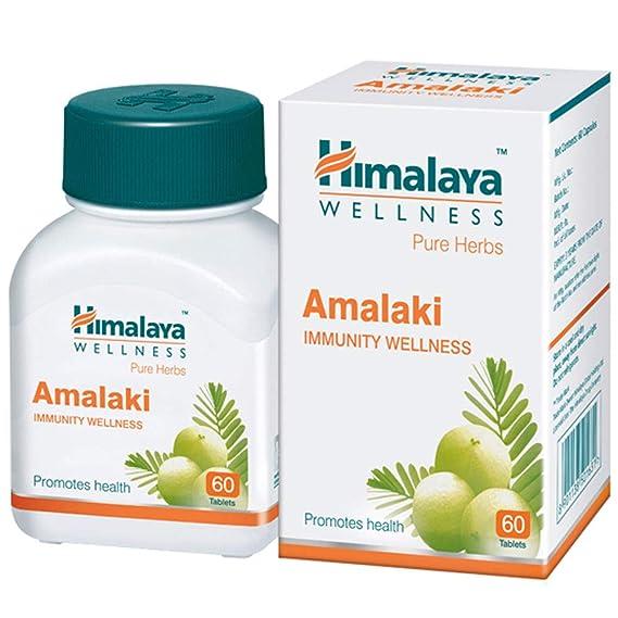 Himalaya Wellness Pure Herbs Amalaki Immunity Wellness |Promotes health | - 60 Tablets