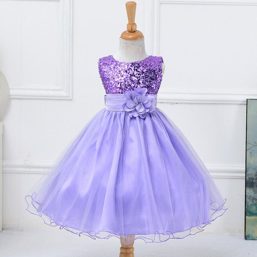 Vestido de niñas Vestido de princesa tutú sin mangas para niñas ...