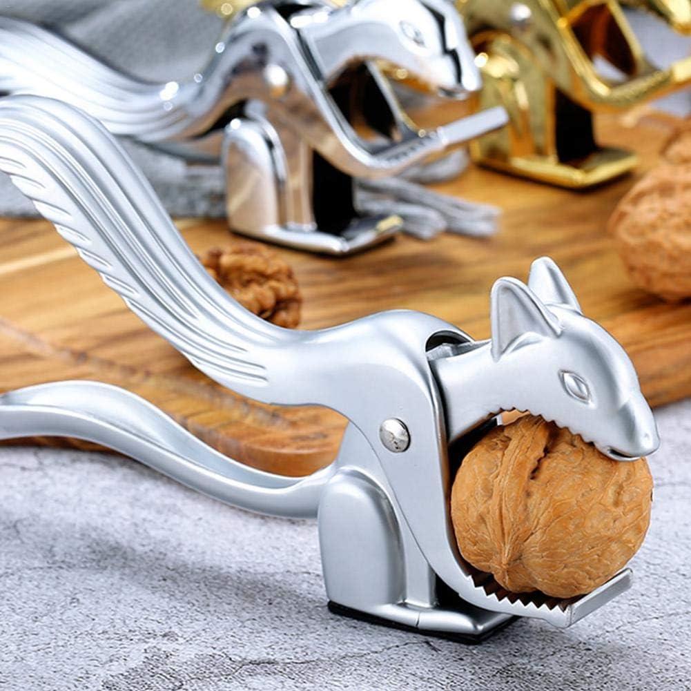 PULABO Pinces /À Noix En Noyer Ecureuil Multifonctionnel Casse-Noisettes Casse-Noix /À Noix Ouvre-Coquille En Forme D/écureuil Outils /À Main En Forme D/écureuil Top-Quality avantage